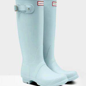 Hunter Original Tall Rain  Boots Boathouse blue